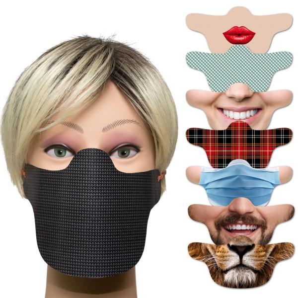 Behelfsmasken Mund- und Nasenabdeckung
